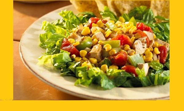 Salade Taco Chaude au Maïs