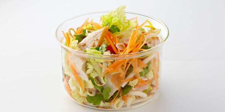 Photo Recette Salade Thaï de Poulet au Chou Chinois