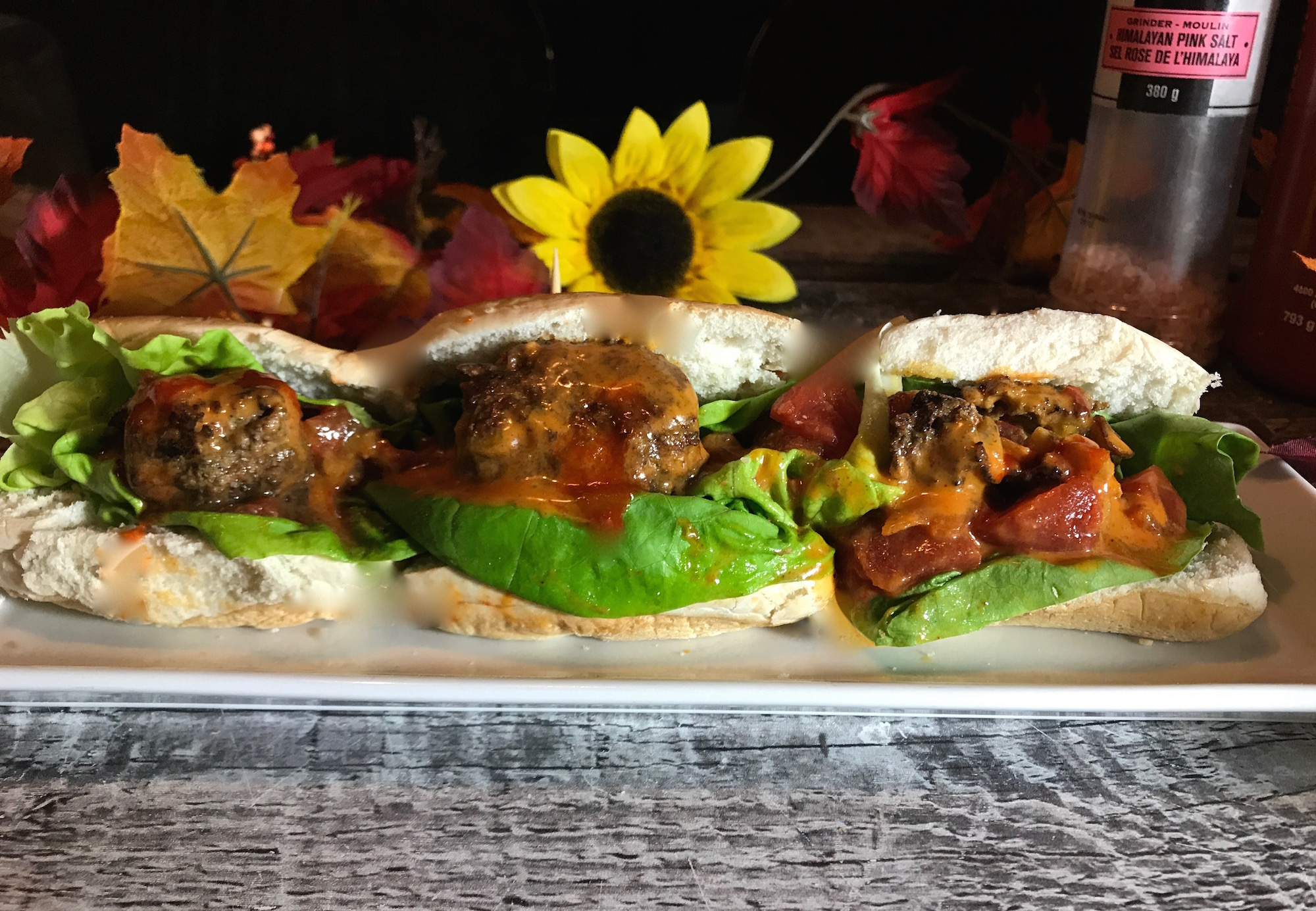 Photo Recette Sandwich aux Boulettes