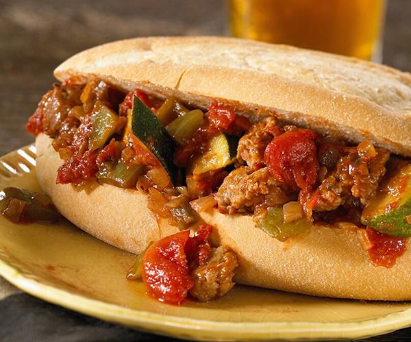 Photo Recette Sandwich Croûté à la Saucisse