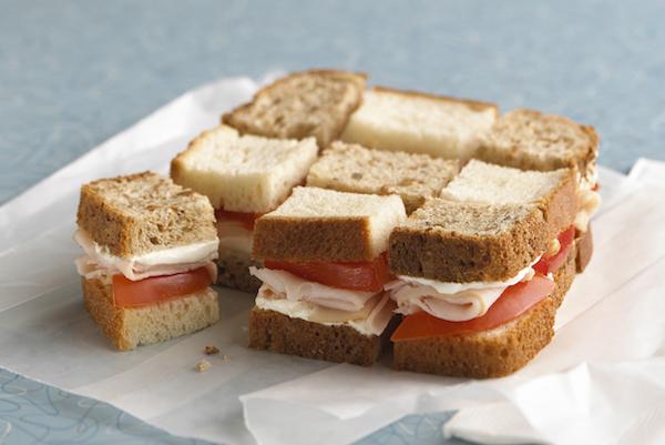 Photo Recette Sandwich « damier » à la Dinde