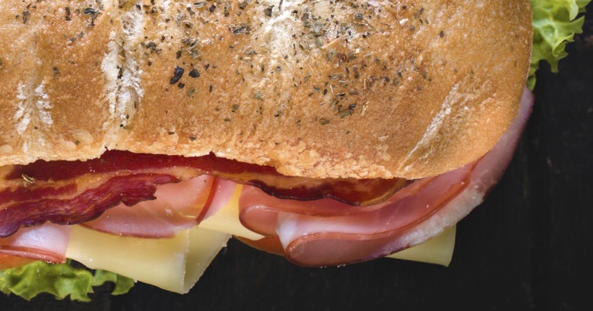 Sandwich Italien à l'Allégro 4% Herbes et Épices