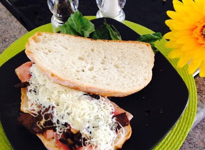Photo Recette Sandwich Wapiti sur Légumes Sautés