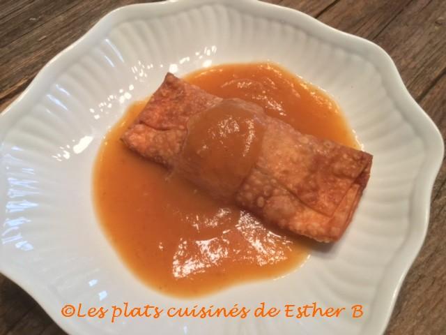 Photo Recette Sauce à Egg Rolls