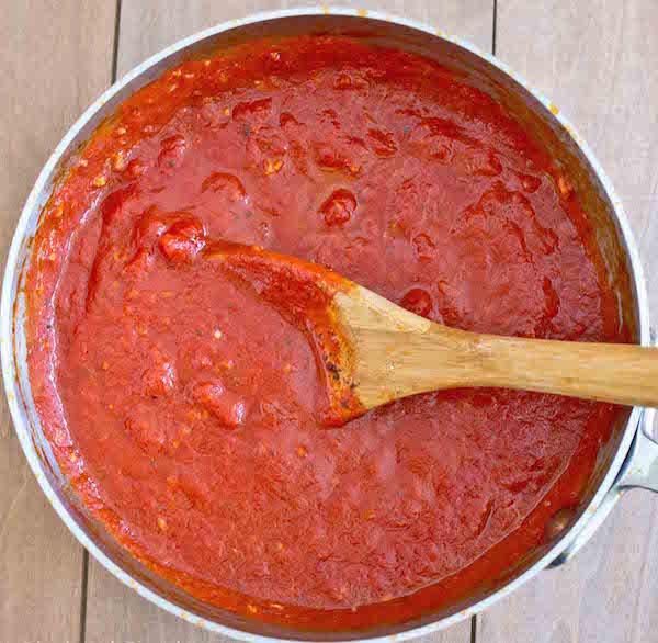 Sauce Pizza Délicieuse
