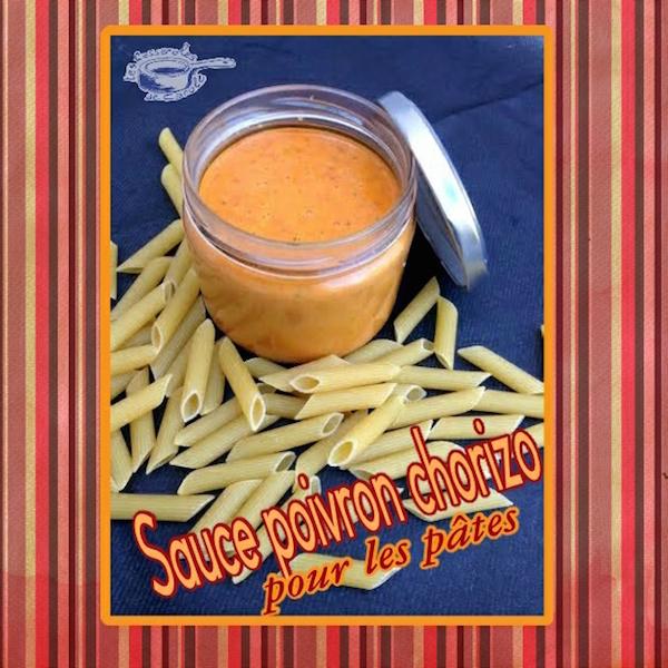 Sauce pour Accompagner les Pâtes Poivron Chorizo Doux