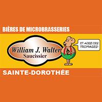 Logo Saucisserie William J. Walter