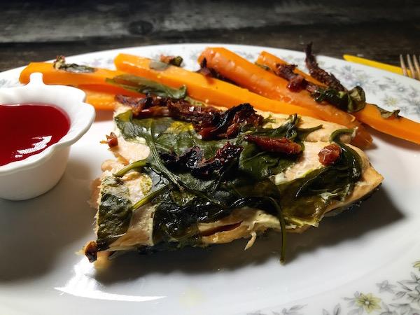 Saumon aux Épinards et Tomates Séchées au Soleil 10