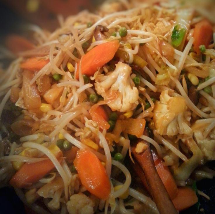 Sauté de Légumes, Chop Suey Thaï