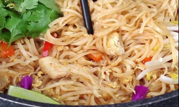 Photo Recette Saveurs Authentiques ce Pad Thai