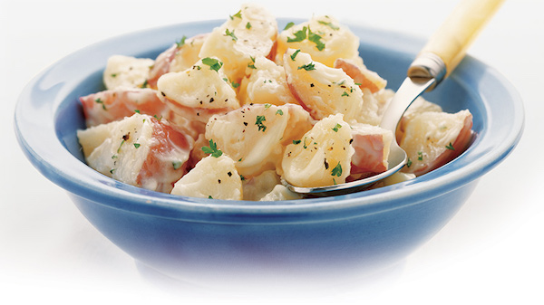 Photo Recette Savoureuse Salade de Pommes de Terre sur le Pouce