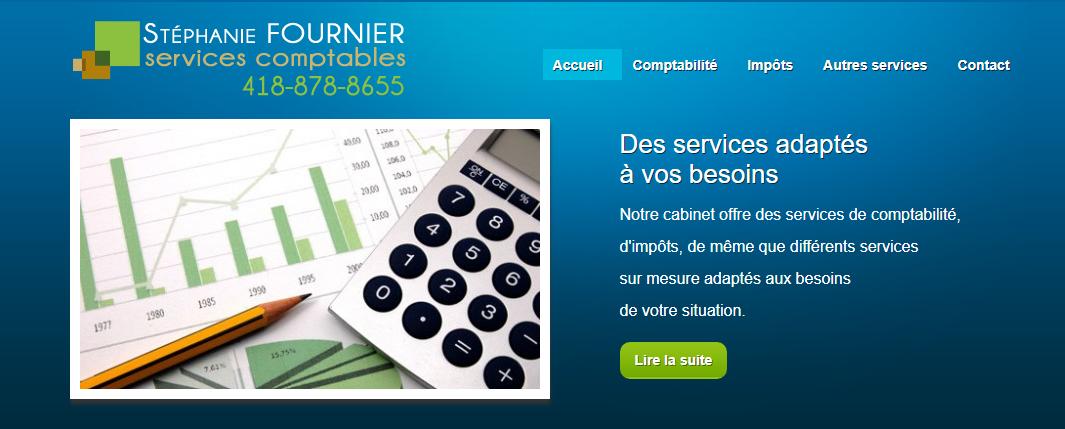 Services Comptables Stéphanie Fournier en Ligne