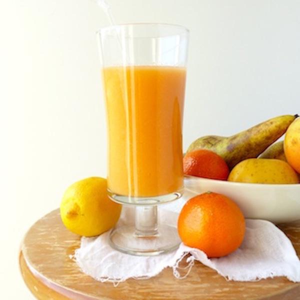 Smoothie Énergie Mandarine, Carotte, Poire et Pomme