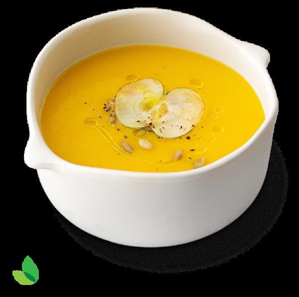 Soupe à la Courge Grillée et aux Pommes avec L'édulcorant sans Calorie Truvía®