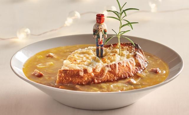 Soupe à L'oignon et à L'érable Style Kamouraska