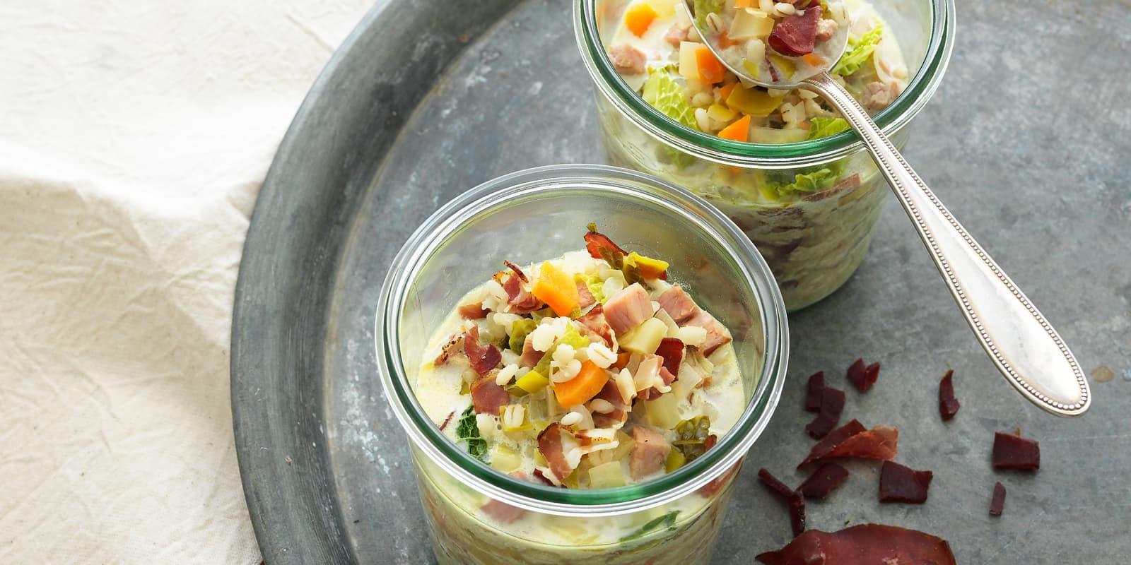 Photo Recette Soupe à L'orge des Grisons
