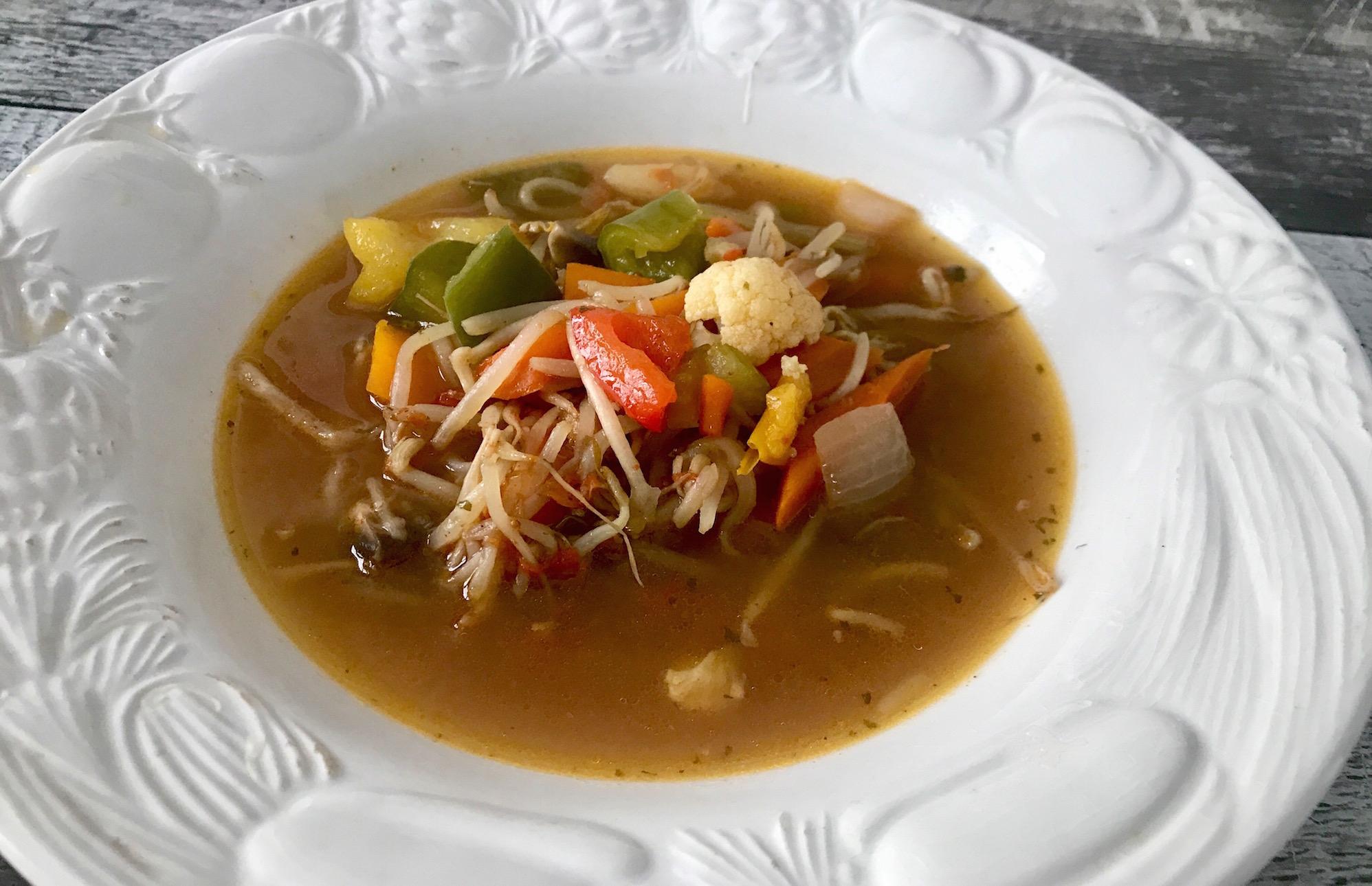 Photo Recette Soupe Asiatique aux Légumes