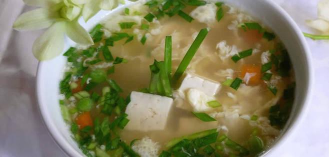 Soupe Asiatique aux Oeufs