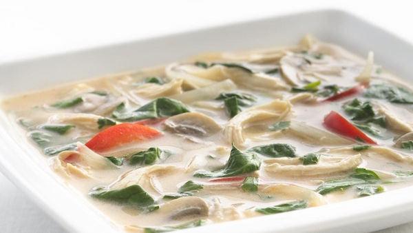Soupe au Poulet Thaïlandaise « adaptée santé »