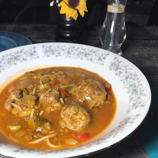 Soupe au Spaghetti 1