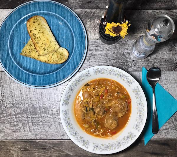 Soupe au Spaghetti 4