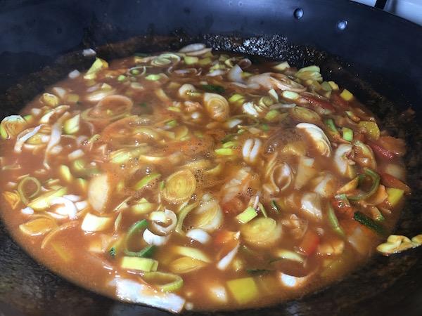 Soupe au Spaghetti