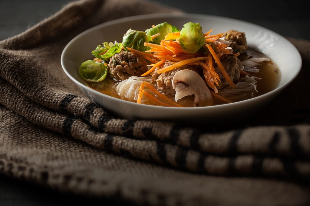 Soupe aux Boulettes Vietnamiennes