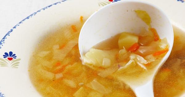 Soupe aux Choux Maison