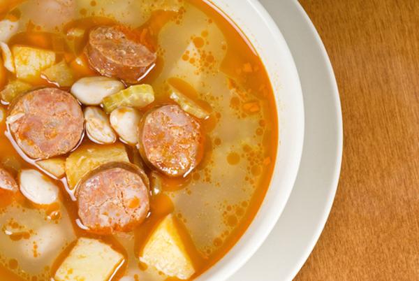 Photo Recette Soupe aux Légumes et au Chorizo