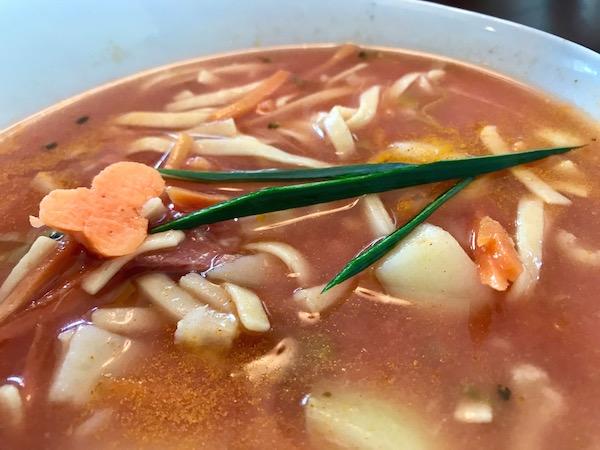 Soupe aux Légumes et Nouilles aux Oeufs 10