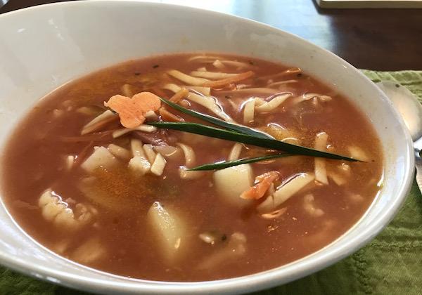 Soupe aux Légumes et Nouilles aux Oeufs 11