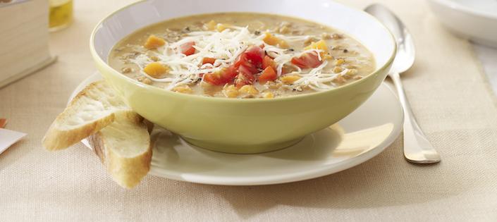 Soupe aux Lentilles au Gouda