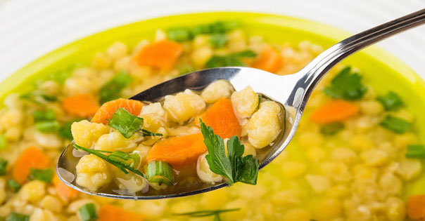 Photo Recette Soupe aux Pois Jaunes Cassés