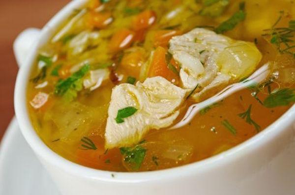 Soupe aux Restes de Dinde (Touski)