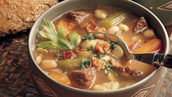 Photo Recette Soupe Boeuf et Haricots (sans gluten)