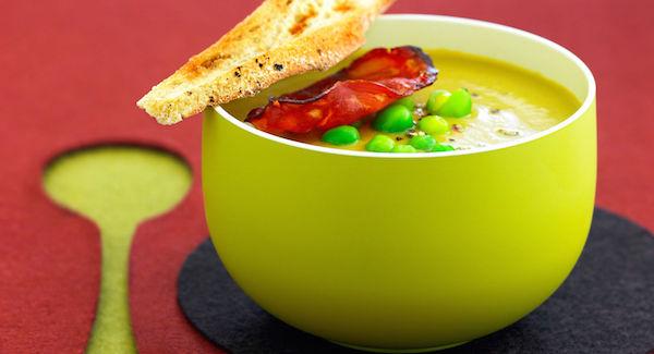 Soupe Chorizo-Petits Pois