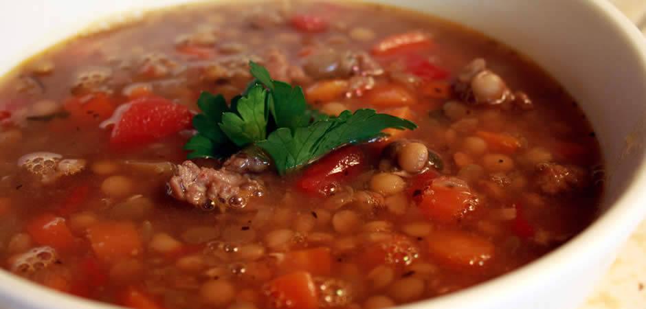 Soupe Complète aux Lentilles