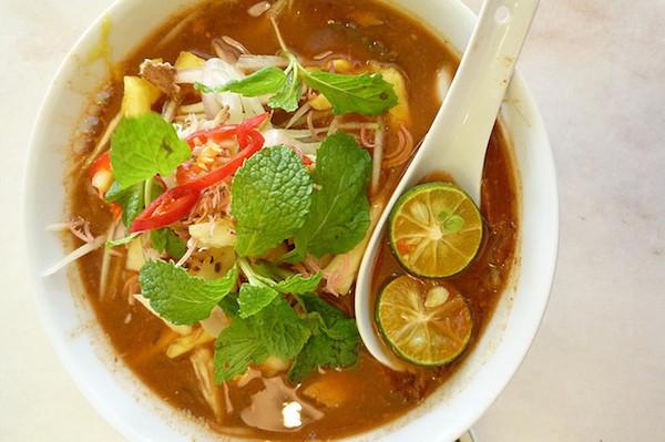 Soupe Curry aux Crevettes