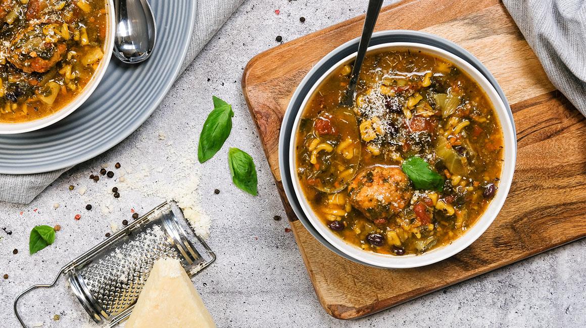 Photo Recette Soupe D'automne aux Boulettes de Cajou Cuisine