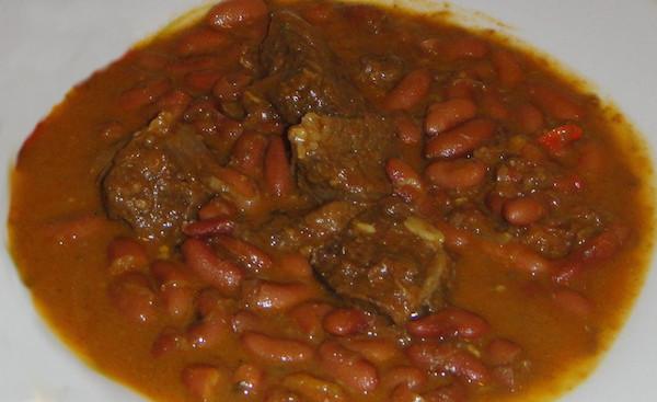 Soupe de Bœuf aux Haricots Rouges et Coco
