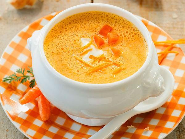 Photo Recette Soupe de Carottes à L'orange
