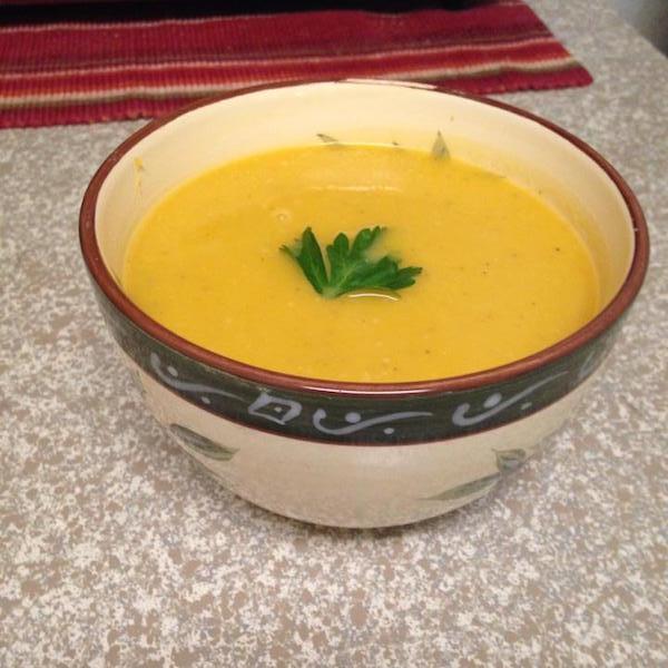 Soupe de Carottes et Kiri