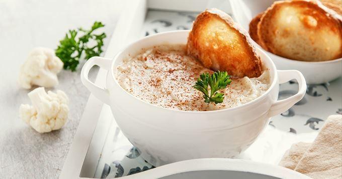 Photo Recette Soupe de Chou-fleur au Paprika