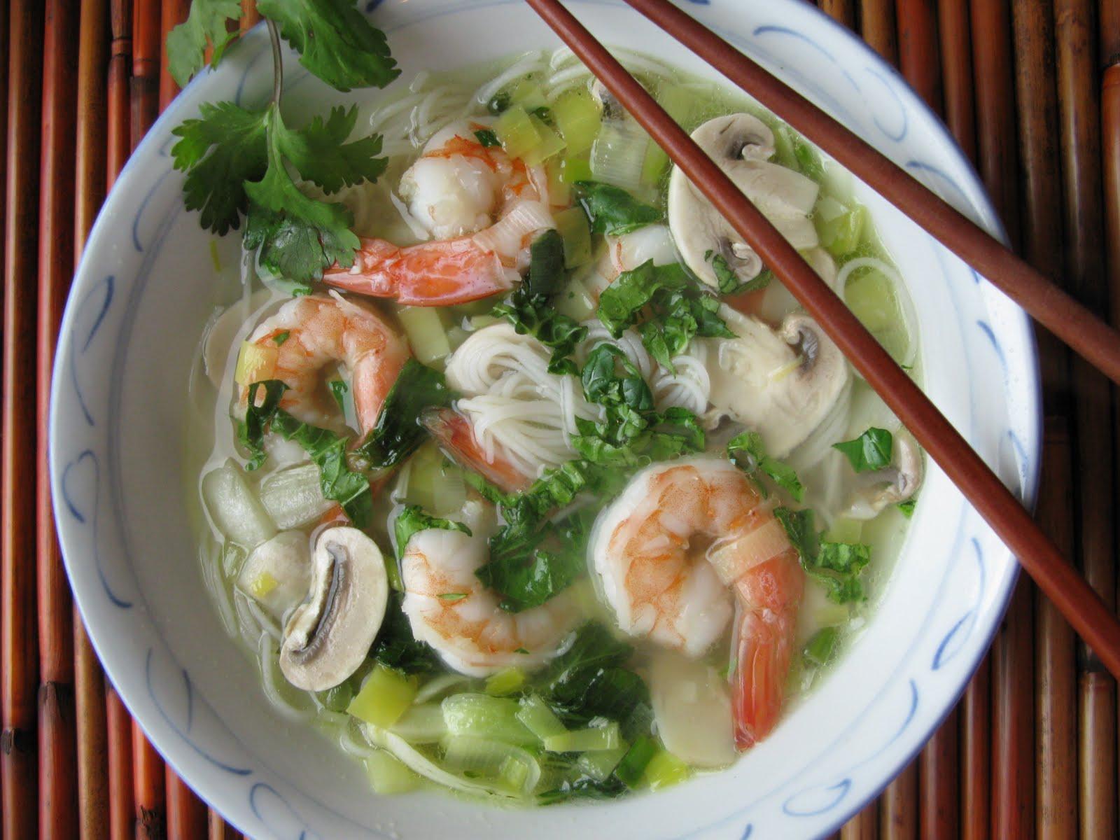 Photo Recette Soupe de Crevettes