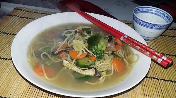 Soupe de Nouille Chinoise