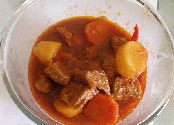 Soupe de Viande de Boeuf