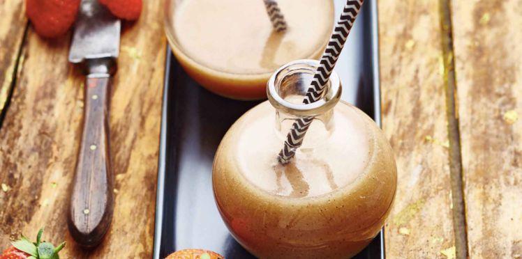 Soupe Froide de Melon Fraises et Kiwis