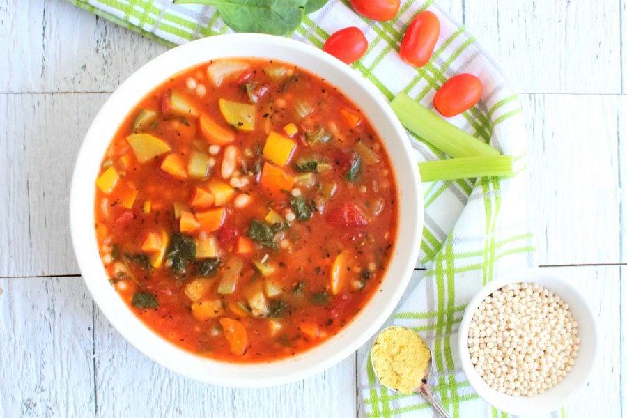 Photo Recette Soupe Minestrone