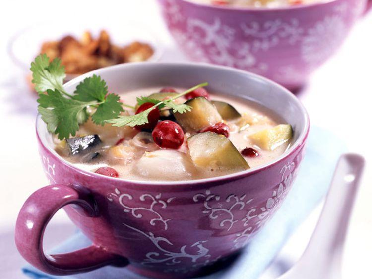 Photo Recette Soupe Pommes de Terre Haricots Verts
