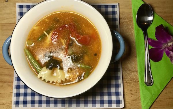 Soupe Poulet Légumes et Jus Tomates 5